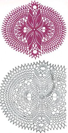 63 Ideas crochet doilies oval vintage for 2019 Crochet Tablecloth Pattern, Free Crochet Doily Patterns, Crochet Doily Diagram, Crochet Motifs, Crochet Chart, Crochet Patterns Amigurumi, Thread Crochet, Crochet Designs, Crochet Stitches