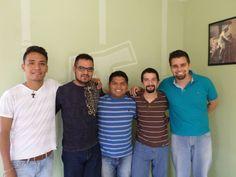 ¿Quiénes son y de dónde vienen? Conoce a los cinco hermanos que comenzaron su formación para ser frailes capuchinos.