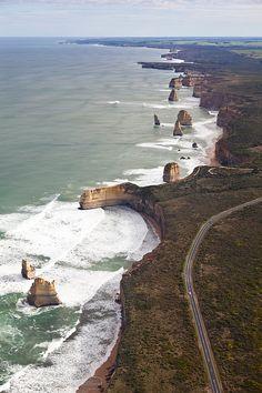 great ocean road ? in Vic , Aust.