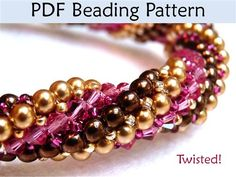Twisted Tubular Herringbone Beading Tutorial - Beading Daily