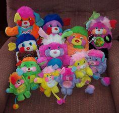 80's Popples <3 <3 Pehmot, Kankaat, Lunch box:it, Lakanat, lasten vaatteet, lasten astiat posliini tai lasi, termos pullot käy myös.
