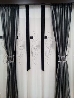cortina dibujo panel japones