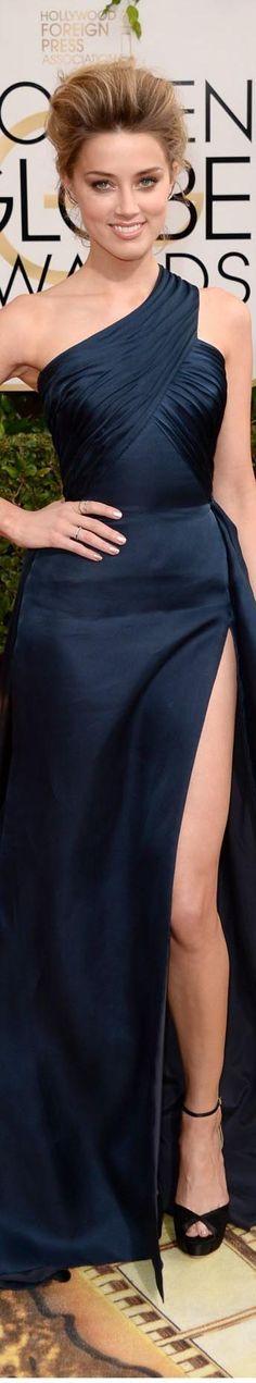 Amber Heard - Golden Globes Awards 2014