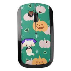 #My cute Halloween Wireless Mouse - #Halloween #happyhalloween #festival #party #holiday