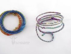Make a Pendant with WoolyWire Etc