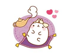 oh genie molang~ my first wish is to own you as a pet!!