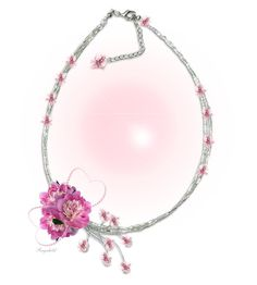 """""""Jewelry Design🌺"""" by ragnh-mjos ❤ liked on Polyvore featuring art, contest, Flowers and jewelry"""