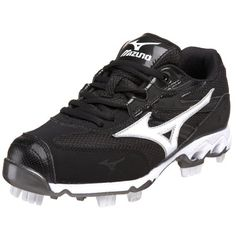 aee65bf005d4 Softball Cleats, Cleats Shoes, Air Max Sneakers, Sneakers Nike, Nike Air  Max, Athletic Shoes, Black White, Football Boots, Nike Tennis