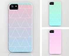 Watercolor Triangle IPhone Case