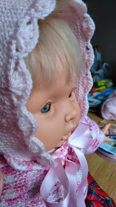 Manetes d'Or: Capotita para principiantes Gray Matters, Crochet Stitches, Baby Knitting, Diy Crafts, Bandanas, Beanies, Knitting And Crocheting, Crafts, Scrappy Quilts