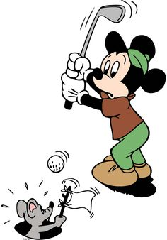 Expert Golf Tips For Beginners Of The Game. Golf is enjoyed by many worldwide, and it is not a sport that is limited to one particular age group. Not many things can beat being out on a golf course o Mickey Mouse Characters, Classic Cartoon Characters, Classic Cartoons, Mickey Minnie Mouse, Cool Cartoons, Simpsons Drawings, Cartoon Drawings, Cartoon Art, Disney Images