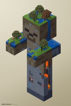 Officially Licensed Minecraft Poster 2 by ProlificPen