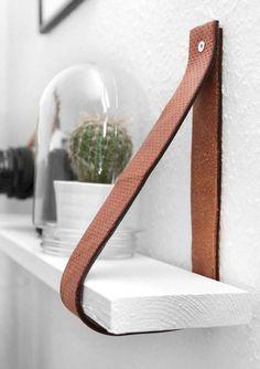50 Smart DIY Wood Shelves Ideas on a Budget #home #diy #woodshelves