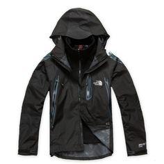 North Face Mens Gore Tex Pro Shell Jacket Black