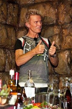 billy idol dinner
