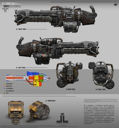 """These guns was designed for my own project"""" Infinite Chain"""" Sci Fi Weapons, Weapon Concept Art, Weapons Guns, Fantasy Weapons, Military Weapons, Gustavo Lopez, Sistema Solar, Heavy Machine Gun, Homemade Weapons"""