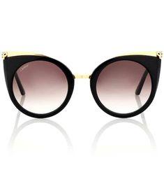 Lunettes de soleil œil-de-chat Panthère de Cartier   Cartier Eyewear  Collection fb15f38023ca