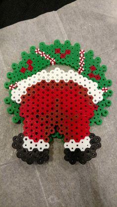 Easy Perler Bead Patterns, Melty Bead Patterns, Perler Bead Templates, Diy Perler Beads, Perler Bead Art, Beading Patterns, Christmas Perler Beads, Art Perle, Hama Beads Design