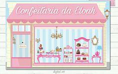 Confira o que eu fiz com #PicsArt Cupcake Pictures, Book Logo, Cake Logo, Diy Shops, Ice Cream Party, Color Balance, Pink Houses, Candyland, Party Cakes