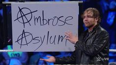 Dean Ambrose 💋💞💖💕💓💗💚💜💙💛