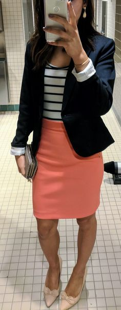 Business casual outfit #nautical