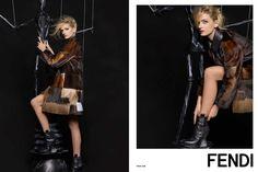 Fendi F/W 15 Campaign (Fendi)