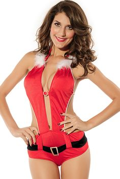 Playful Santa Lingerie Costume