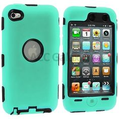 Deluxe Mint Green Hard Skin Cover Case for iPod Touch 4 4G 4th Gen Protector | eBay