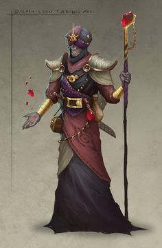 Character concept art for the black ships merchants of the Dream-quest of Unknown Kadath, from H. Dylath-Leen turbaned men of leng Fantasy Races, Fantasy Warrior, Fantasy Rpg, Dark Fantasy, Fantasy Inspiration, Character Design Inspiration, Dnd Characters, Fantasy Characters, Fantasy Creatures
