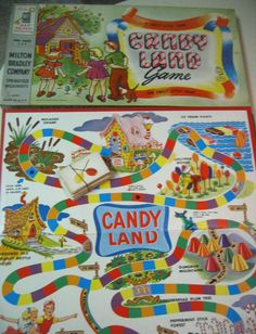 This is how my Candy Land game looked.