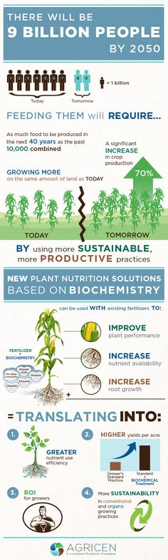 There will be 9 billion people by 2050. Here's what we're doing to help feed them all.