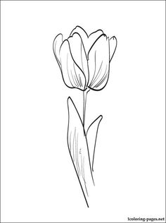 Flower Coloring Pages | Color Flowers Online | Page 2 | sewing ...