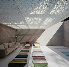 Light Architecture, Residential Architecture, Interior Architecture, Spas, Casa Milano, Backyard Covered Patios, Simple Pool, Tropical Houses, Commercial Interiors
