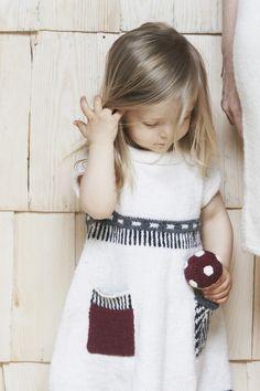 Crocheted Mushroom-rattle Novita Alpaca Wool   Novita knits