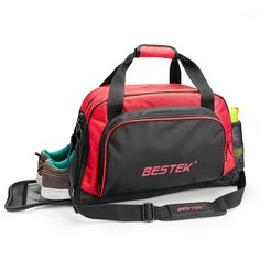 BESTEK Sport Gear Equipment Gym Duffle Bag Travel Luggage Bag Shoulder Handbag Including Shoes Compartment for Men and Women * Learn more by visiting the image link. (This is an Amazon Affiliate link)