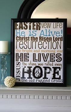Pinteresting Tuesdays: Christ Centered Easter Ideas  {www.ReMarkableHome.net}
