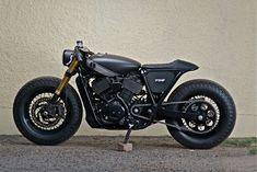 Harley Davidson custom cafe racer
