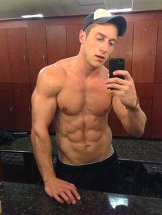Self Shot Muscle Guy