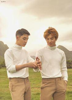 Suho and kyungsoo