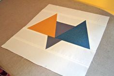 so rad, riffing on the current trend of geometrics and chevrons. Modern Block of the Month (BOM) ~ September Sew-Along « Sew,Mama,Sew! Blog