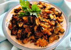 Baked Panko Zucchini Crisps