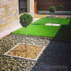 Kertépítés, kerttervezés ötletek Land Scape, Beautiful Gardens, Sidewalk, Modern, Plants, Gardening, Design, Trendy Tree, Side Walkway
