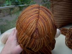 Ashtabeulah: Finishing your doll Section 2- Traditional Hair: Layer 1