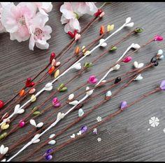 Nova chegada 40 cm 9 cores ramos início flor artificial festa de casamento decoração do carro artesanato flores grátis frete(China (Mainland))