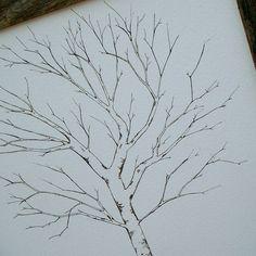 etsy wedding guestbook tree
