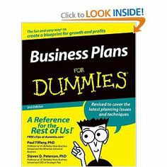 business plans for dummies amazon
