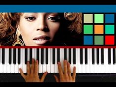 How To Play Halo Piano Tutorial / Sheet Music (Beyonce Knowles)