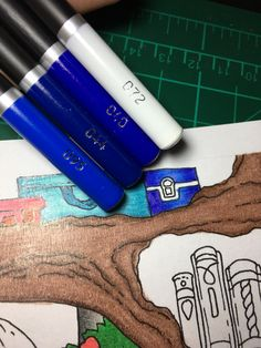 Colouring Techniques, Art Supplies, Castle, Products, Coloring Pages, Colors, Forts, Gadget, Palace