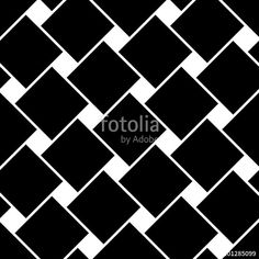 """Download the royalty-free vector """"Vector modern seamless geometry pattern squares, black and white abstract geometric background, pillow print, monochrome retro texture, hipster fashion design"""" designed by sunspire at the lowest price on Fotolia.com. Browse our cheap image bank online to find the perfect stock vector for your marketing projects!"""