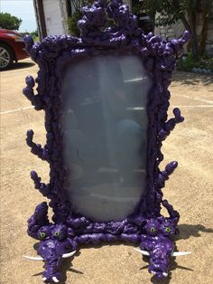 The Little Mermaid Ursula's vanity mirror with Flotsam and Jetsam worked into the base